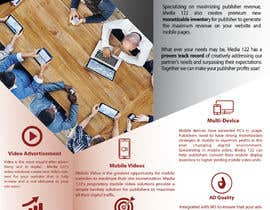 Afterteam tarafından Design a Flyer for Media 122 için no 17