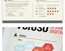 #30 untuk I need some Graphic Design for my resume oleh mohitmalik99