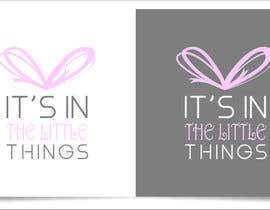 "#79 untuk ReDesign a Logo for ""It's In The Little Things"" oleh indraDhe"