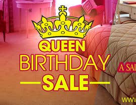 #15 for Design a Banner for My Adult Website (Queens Birthday Sale!) by cuongprochelsea