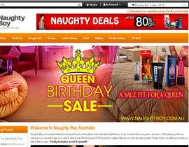 #16 for Design a Banner for My Adult Website (Queens Birthday Sale!) by cuongprochelsea