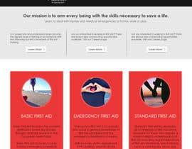 muhamedibrahim25 tarafından Design a Website Mockup - 2 için no 3