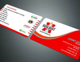 #150 para Business Cards for Hurlburt por fibr