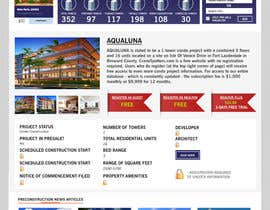 #19 untuk Design a Website Mockup for real estate pre-construction database oleh kash03vw