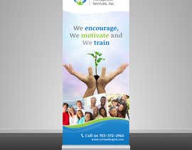 #21 untuk Design a Banner for Circle Of Hope Therapeutic Services, Inc oleh leandeganos