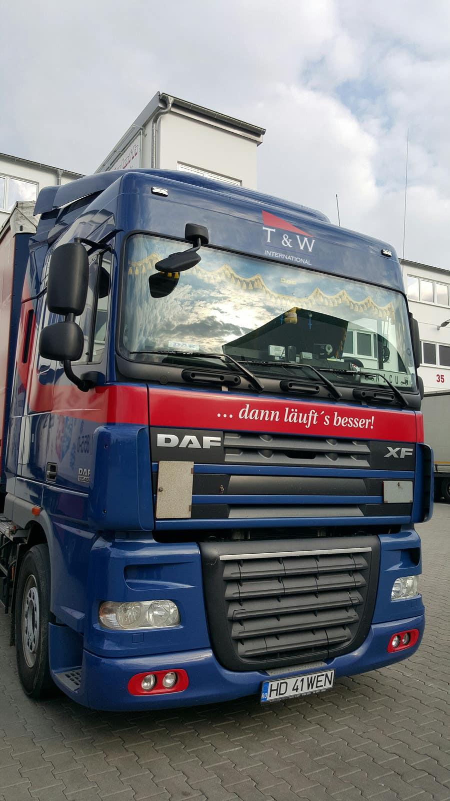 Penyertaan Peraduan #23 untuk Alter some images -- add logo on trucks