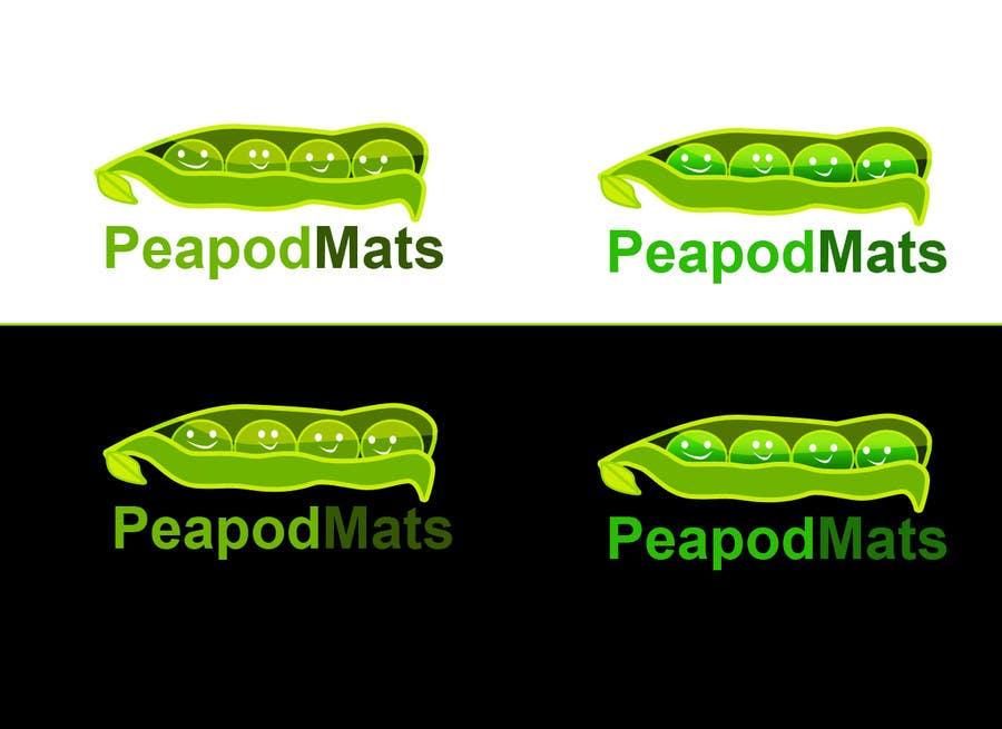 Proposition n°                                        14                                      du concours                                         Design a Logo for PeapodMats