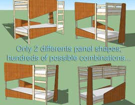 #4 for IKEA Bunk Bed Hackathon - Mid Century Modern by nobart