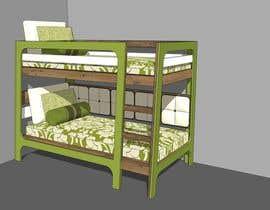 #11 untuk IKEA Bunk Bed Hackathon - Mid Century Modern oleh kmworkmoney