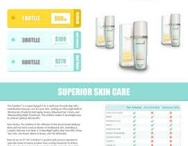 RikoSaptoDimo tarafından Design a Skin Care Landing page for PPC campaign to collect leads için no 2