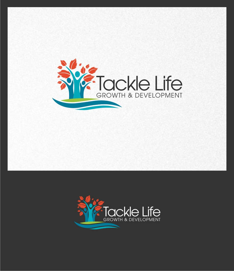 Конкурсная заявка №8 для Design a Logo for Tackle Life