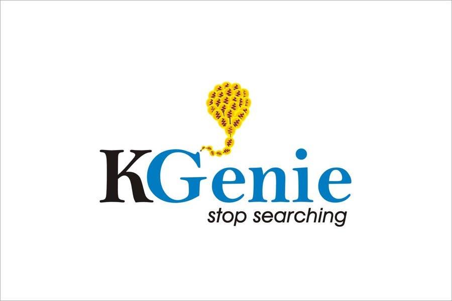 Конкурсная заявка №                                        493                                      для                                         Logo Design for KGenie.com