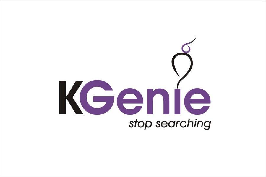 Конкурсная заявка №                                        558                                      для                                         Logo Design for KGenie.com