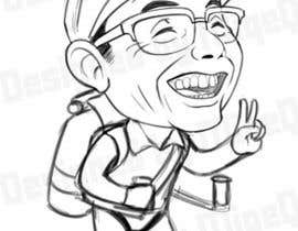 #66 untuk Design a vector graphic that celebrates Soichiro Honda. oleh miqeq