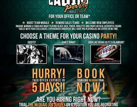 nº 8 pour Flyer - Easy, Quick, Casino Theme par EFrad