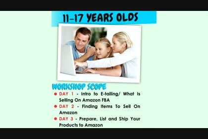 #1 untuk Create a Video for our Young E-tailers Amazon FBA workshop oleh dranerswag