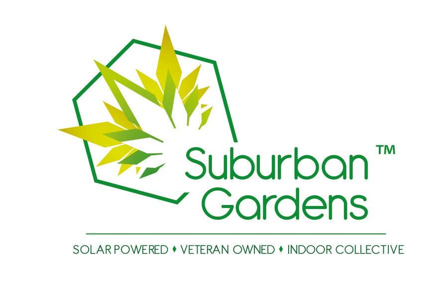 Participación en el concurso Nro.                                        77                                      para                                         Logo Design for Suburban Gardens - A solar-powered, veteran owned indoor collective