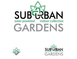 eedzine tarafından Logo Design for Suburban Gardens - A solar-powered, veteran owned indoor collective için no 60