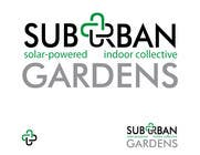 Graphic Design Konkurrenceindlæg #61 for Logo Design for Suburban Gardens - A solar-powered, veteran owned indoor collective