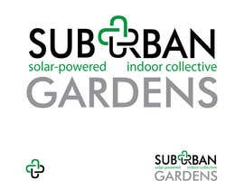 #61 untuk Logo Design for Suburban Gardens - A solar-powered, veteran owned indoor collective oleh eedzine