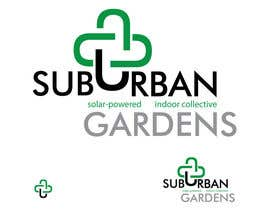 #62 untuk Logo Design for Suburban Gardens - A solar-powered, veteran owned indoor collective oleh eedzine