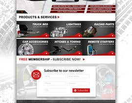 #20 para Design a Website Mockup for Autoworld por kash03vw