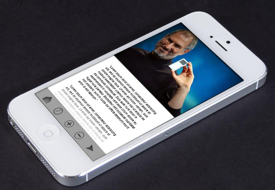 Bài tham dự cuộc thi #                                        1                                      cho                                         Design an App Mockup for Webinar Text/Slide Reader