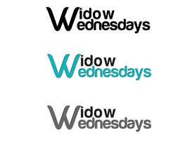 #10 untuk Design a Logo for Widow Wednesdays oleh designerartist