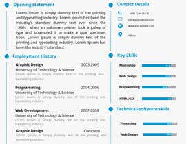 #12 for Design a CV Resume (MS WORD FORMAT) af Thanosfotn