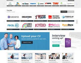 massoftware tarafından Design a Homepage for a Job Site için no 8