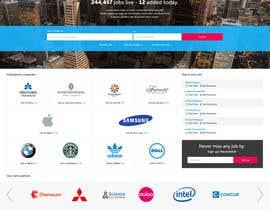Nro 14 kilpailuun Design a Homepage for a Job Site käyttäjältä superock