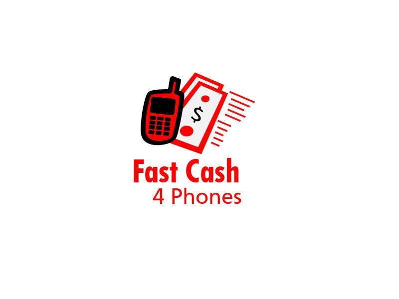 Entri Kontes #                                        36                                      untuk                                        Logo Design for Fast Cash 4 Phones