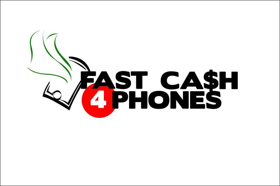 Kilpailutyö #                                        88                                      kilpailussa                                         Logo Design for Fast Cash 4 Phones