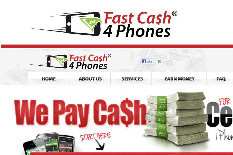 Entri Kontes #                                        91                                      untuk                                        Logo Design for Fast Cash 4 Phones