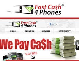 #91 para Logo Design for Fast Cash 4 Phones por sikoru