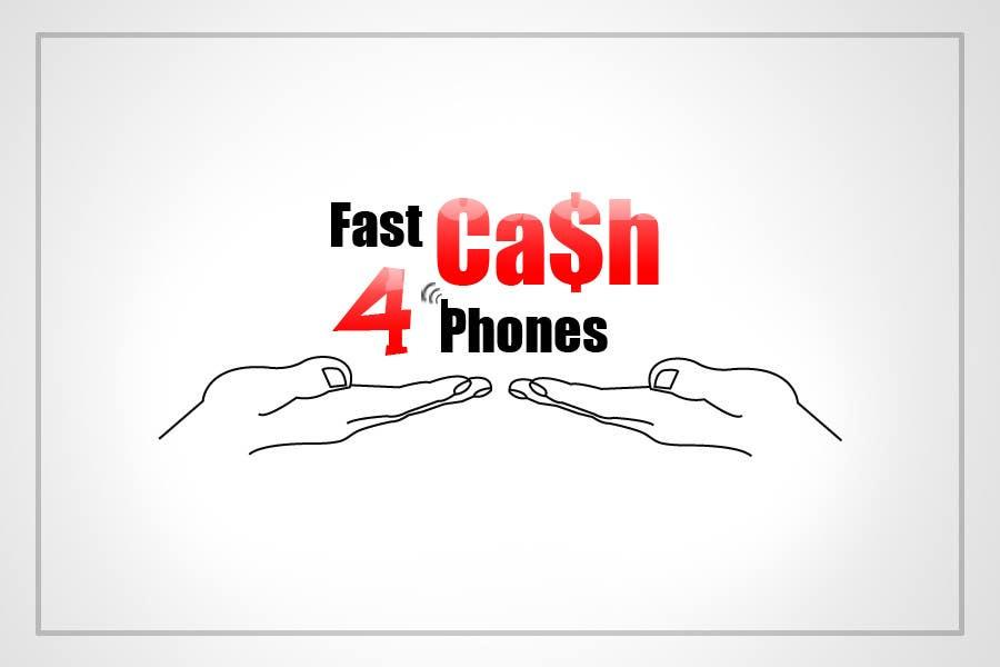 Kilpailutyö #                                        38                                      kilpailussa                                         Logo Design for Fast Cash 4 Phones