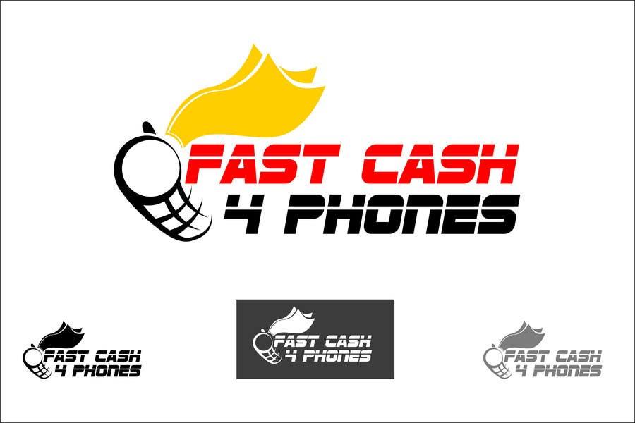 Entri Kontes #                                        70                                      untuk                                        Logo Design for Fast Cash 4 Phones