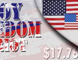 #3 for Design a Banner for an American Themed Website af deeadum