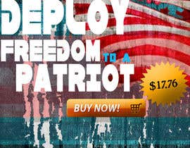 #6 for Design a Banner for an American Themed Website af surajparise