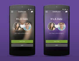 #18 cho Design an App Mockup for Dating Application bởi thewolfmenrock