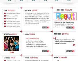 #9 cho Website Mockup for Chinese School bởi mahiweb123