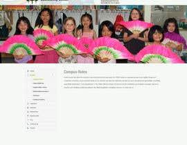 #21 cho Website Mockup for Chinese School bởi dani786