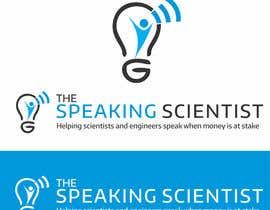 #128 para The Speaking Scientist's Logo por irfanrashid123