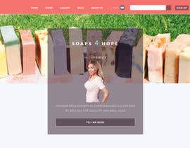 #9 untuk Design a better website to sell soaps oleh webskillers
