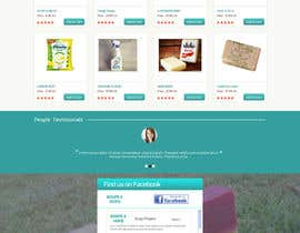 #5 untuk Design a better website to sell soaps oleh manfredinfotech