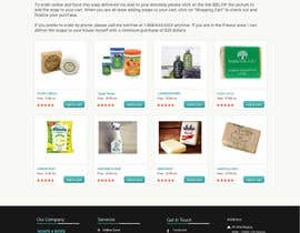 #13 untuk Design a better website to sell soaps oleh manfredinfotech