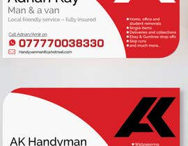 yasenkanev tarafından Design some Business Cards for removals/handy man için no 8