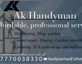 vijayanimation tarafından Design some Business Cards for removals/handy man için no 16