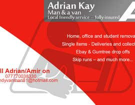 #11 for Design some Business Cards for removals/handy man af rockingdude543