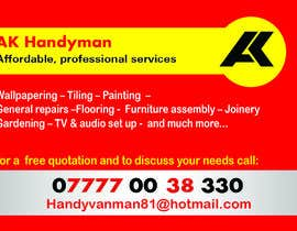 fox29891 tarafından Design some Business Cards for removals/handy man için no 2